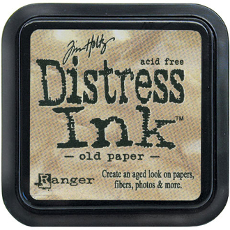 Tim holtz distress ink pad old paper 2x2 inches for Tim holtz craft mat