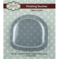 Creative Expressions Domed Treat Cups 6/Pkg