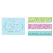 Embossing Folders 4PK - Wedding Set #3