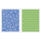 Embossing Folders 2PK - Circles & Dots Set