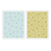 Embossing Folders 2PK - Butterflies & Flowers Set