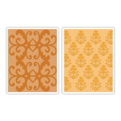 Embossing Folders 2PK - Luxurious Set