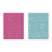 Embossing Folders 2PK - Bohemian Lace Set