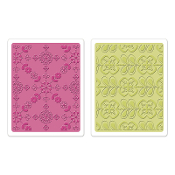 Embossing Folders 2PK - Kaleidoscope Blooms Set