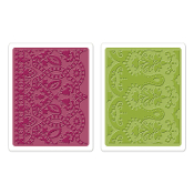Embossing Folders 2PK - Moroccan Daydreams Set