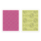 Embossing Folders 2PK - Psychedelic Dreams Set