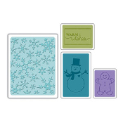 Embossing Folders 4PK - Christmas Set #3