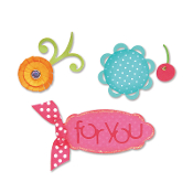 Sizzlits Die Set 3PK - Sweet Treats for You Set