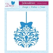 Embossalicious Embossing Folder-Christmas Ornament