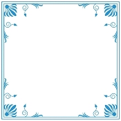 Embossing Folder - Elegant Frame