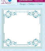 Embossing Folder - Regency Frame