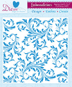 Embossing Folder - Regency Swirls