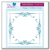 Embossing Folder - Chantilly Frame