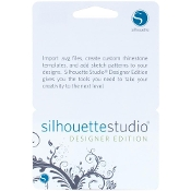 Silhouette Studio Designer Edition upgrade card (License Key)