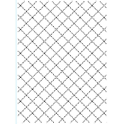 Embossing Folder - Wire Fence - 4.25 x 5.75
