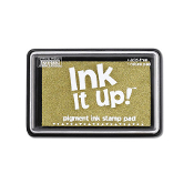 Pigment Ink Stamp Pad - Gold