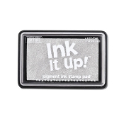 Pigment Ink Stamp Pad - Silver