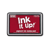 Pigment Ink Stamp Pad - True Red