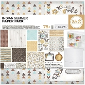 Scrapbook Paper Pack - Indian Summer