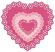 Nesting Doily Hearts - LifeStyle Craft