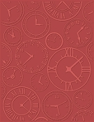 CRAFTWELL - About Time - Embossing Folders (Letter Size)