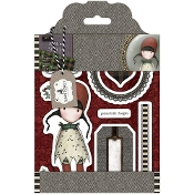 HOLLY -TWEED RUBBER STAMPS