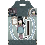 WAITING -TWEED RUBBER STAMPS