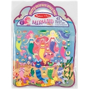 MERMAID   -PUFFY STICKER SET