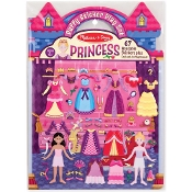 PRINCESS  -PUFFY STICKER SET