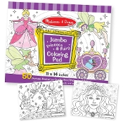 PRINCESS  -JUMBO COLORING PAD
