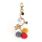 My Prima Planner Pom Pom Key Chain Adornment