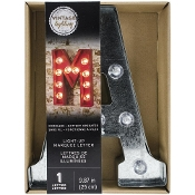 "Silver Metal Marquee Letter 9.875"" - Letter A"