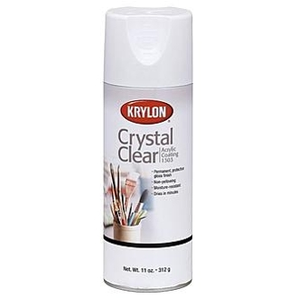 Krylon 11 Oz Aero-Crystal Clear Spray