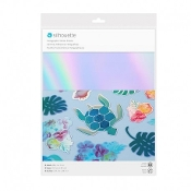 STICKER PAPER / HOLOGRAPHIC - IRIDESCENT